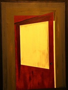 light at door